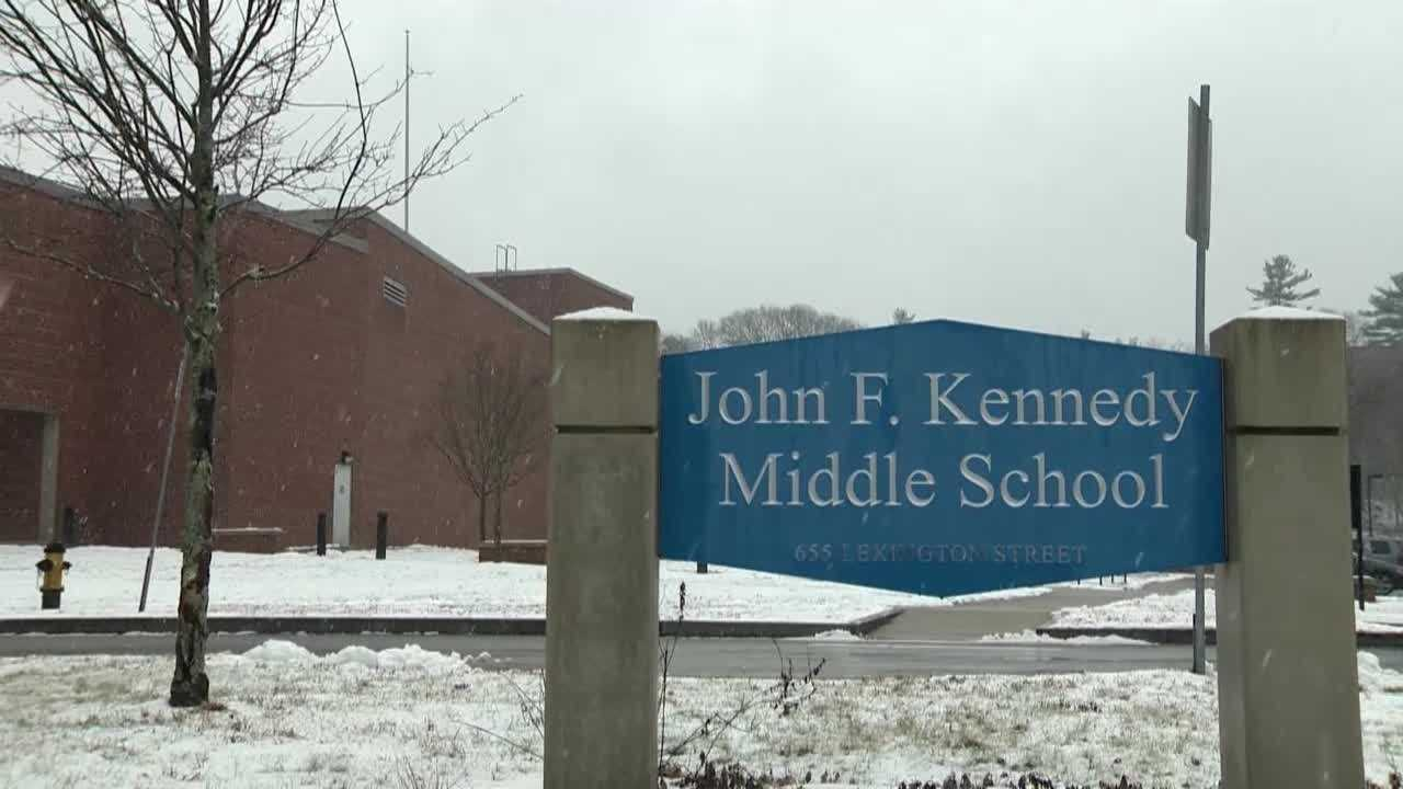 Kennedy Middle School Waltham 121013