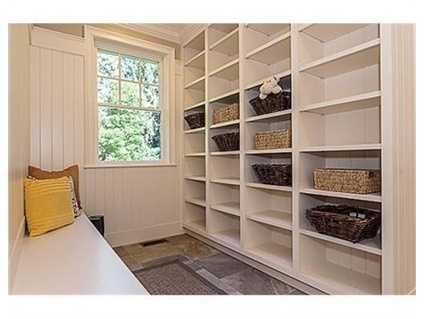 A large pantry.