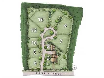 Fabulous new neighborhood of nine residences with plenty of beautifully landscaped open space.