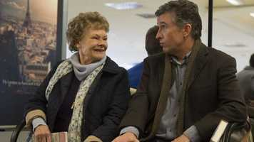 Philomena: Judi Dench and Steve Coogan star in this movie that tells the story of a woman who is looking for her son decades after he was taken away from her.