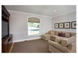 The home has nearly 5,000 square feet of living space.