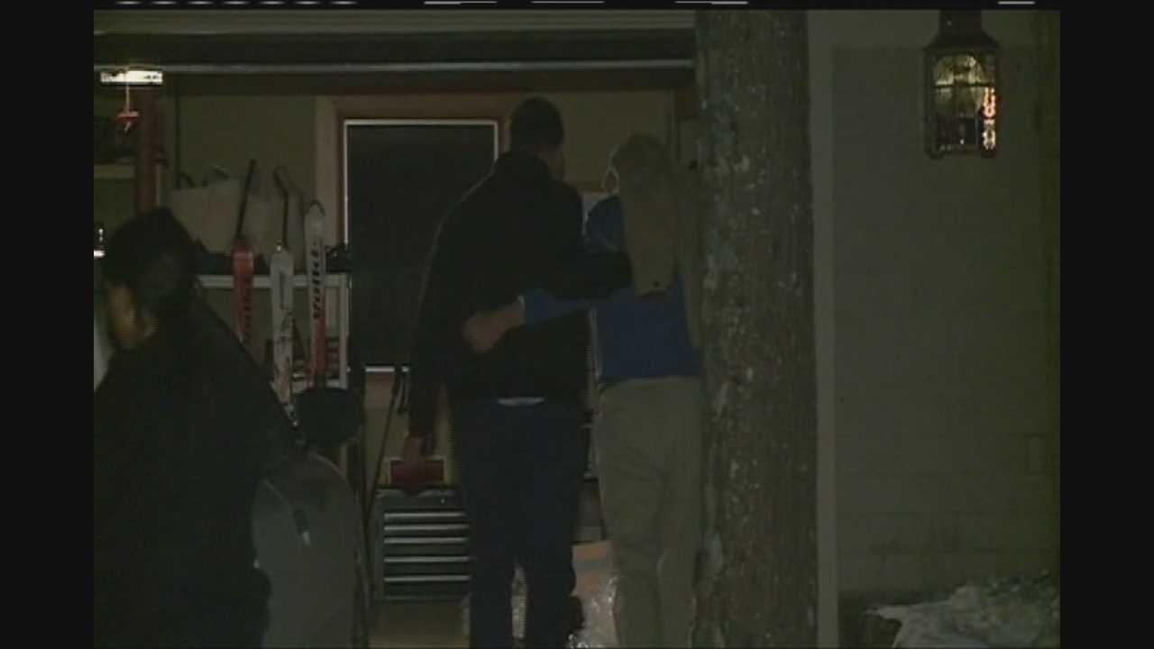 Suspect Returns Home After Crash