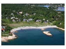 Direct Oceanfront on exclusive Sandy Cove.