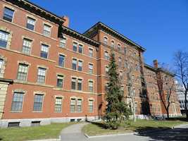 Thayer Hall is a dorm, primary for freshmen.