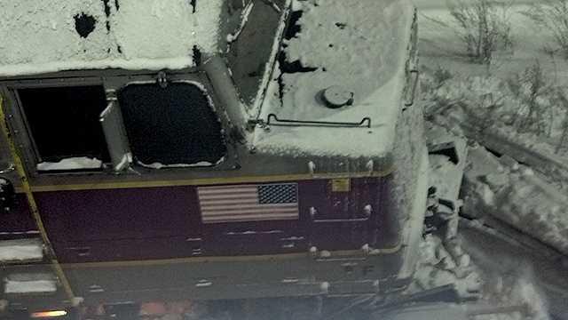 Commuter rail train derails in Fitchburg