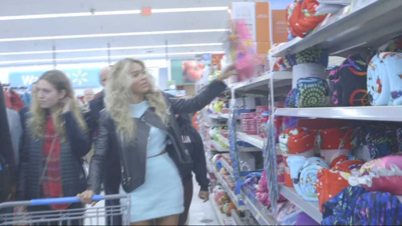 Beyonce's Wal-Mart visit boosts local shelter