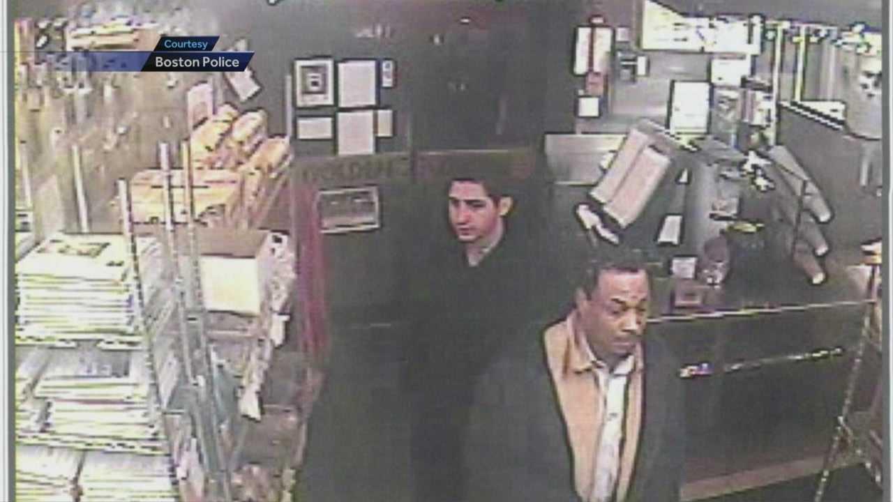 Robber team hit 5 stores, Starbucks in Boston