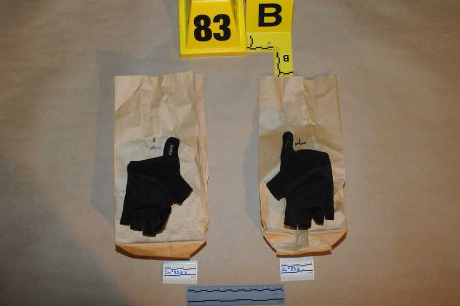 Lanza's gloves he was wearing during the rampage.