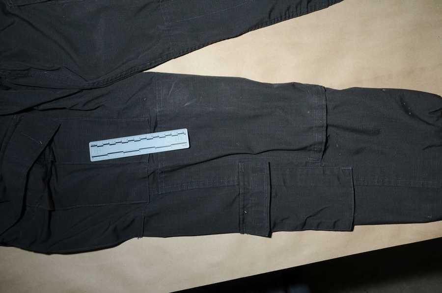 Lanza's pants.