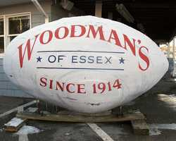 """Woodman's, of Essex, where the very first fried clam in the world was invented. Originally a roadside grocery stand started by Lawrence """"Chubby"""" and Bessie Woodman, the restaurant has been serving traditional New England seafood to five generations of fans."""