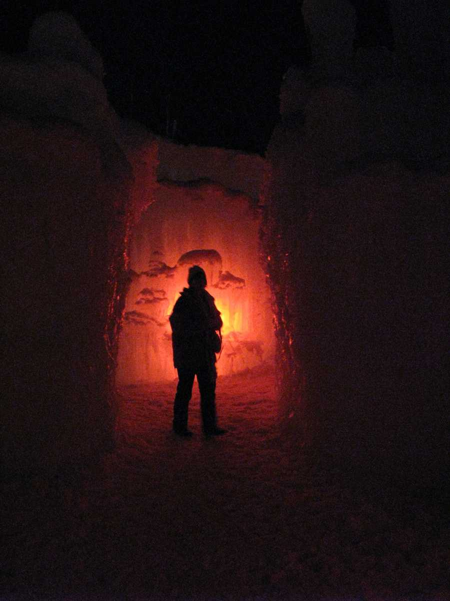Check out these photos to take a tour of Loon Mountain's Ice Castle.