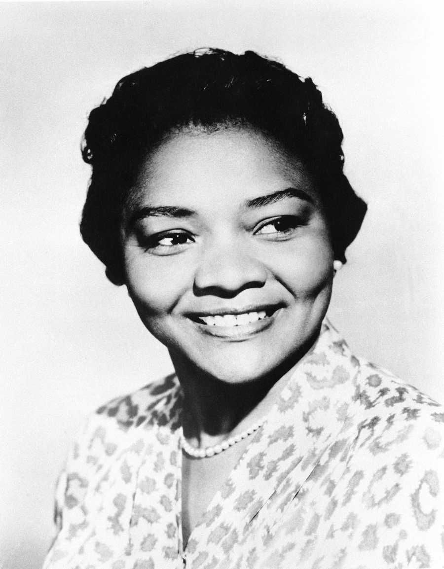 "Juanita Moore was a groundbreaking actress and an Academy Award nominee for her role as Lana Turner's black friend in the classic weeper ""Imitation of Life."" Moore was only the fifth black performer to be nominated for an Oscar, receiving the nod for the glossy Douglas Sirk film that became a big hit and later gained a cult following. (October 19, 1914 – January 1, 2014)"