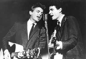 There is no more beautiful sound than the voices of siblings swirled together in high harmony, and when Phil and Don Everly combined their voices with songs about yearning, angst and loss, it changed the world. Phil Everly (R) was the youngest of the Everly Brothers who took the high notes. He left a towering legacy that still inspires half a century after The Everly Brothers' first hit.  He was 74,