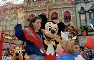 Kerrigan chose not to attend the closing ceremonies at the Olympics. She left Norway early to take part in a pre-arranged publicity parade at Walt Disney World.