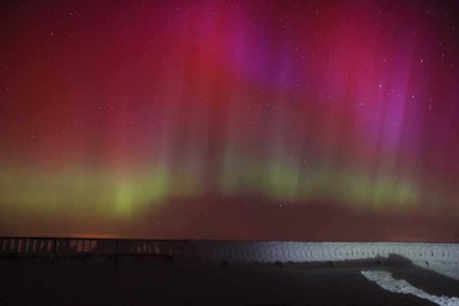 NOAA's Space Weather Prediction Center forecasters say northern tier states -- including Massachusetts -- could see a brilliant Northern Lights or Aurora Borealis display Thursday and/or Friday if skies are clear.