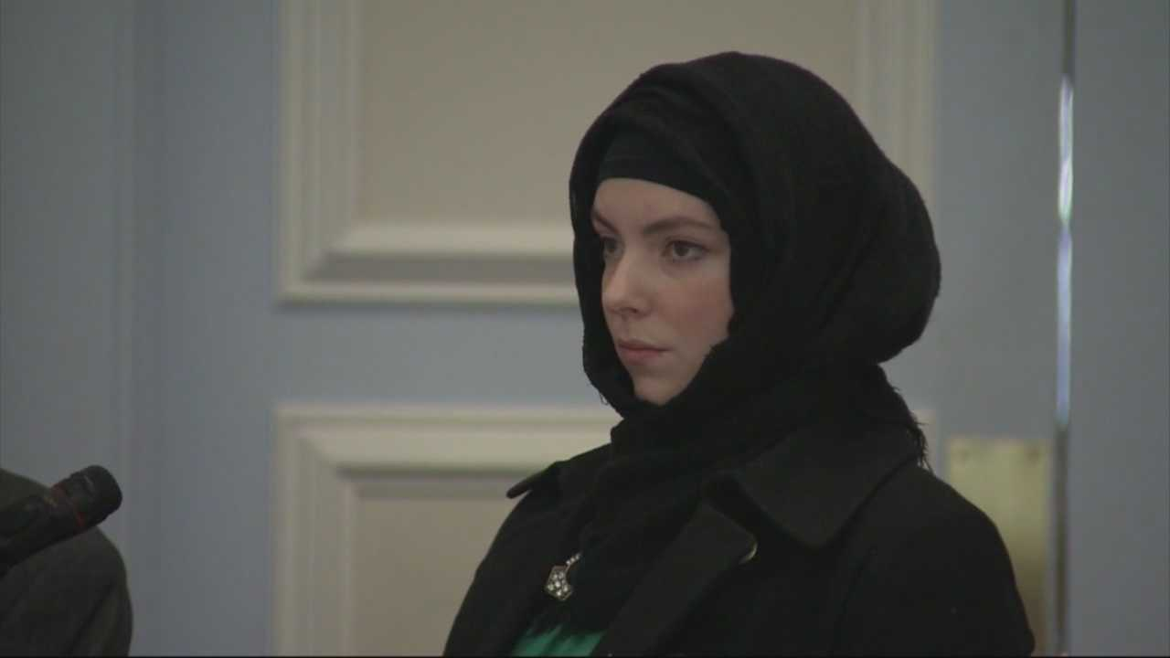 Widow of marathon bombing suspect appears in court