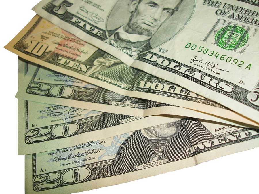 The average American tucked away just 4.7 percent of their income per paycheck, according to Yahoo! Finance.