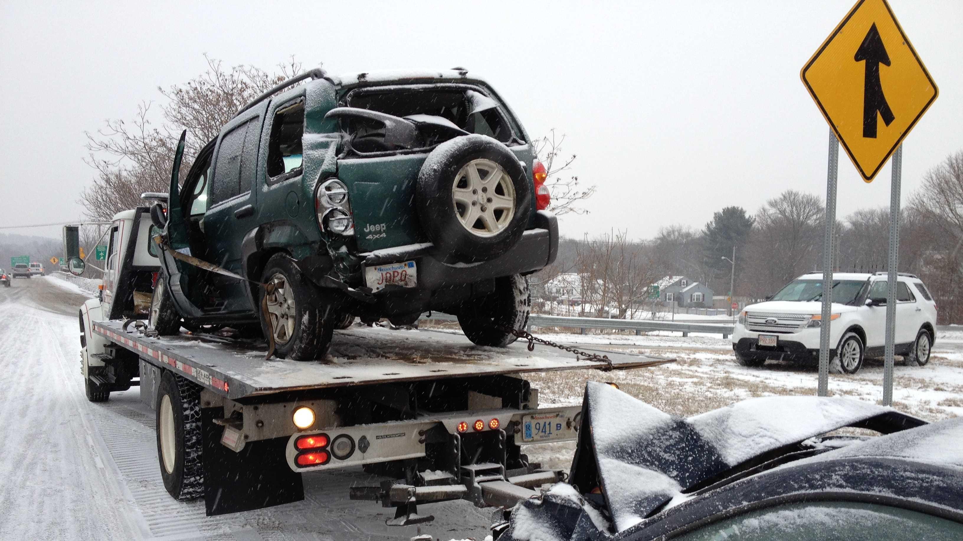 Beverly rollover crash