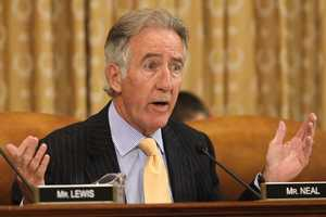 Rep. Neal's net worth in 2012, according to the Center for Responsive Politics, was between $83,011 to $250,000