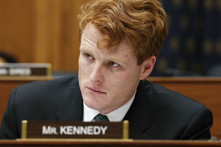 Massachusetts Rep. Joseph Kennedy III ranks 22nd in the House in net worth, according to the Center for Responsive Politics.