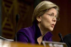 Massachusetts Sen. Elizabeth Warren ranks 23rd in the Senate in net worth, according to the Center for Responsive Politics.