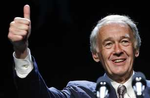 Sen. Markey's net worth in 2012, according to the Center for Responsive Politics, was between $883,025 to $2,221,000