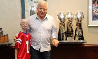 Kraft, after being introduced to Berns and attending the HBO premiere of the documentary in New York in October, made a $500,000 matching pledge to the foundation.
