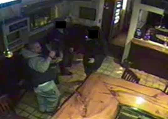 State police is asking for the public's help in identifying a person who tossed two Molotov cocktails at a local sports bar in Lynn on Dec. 20.