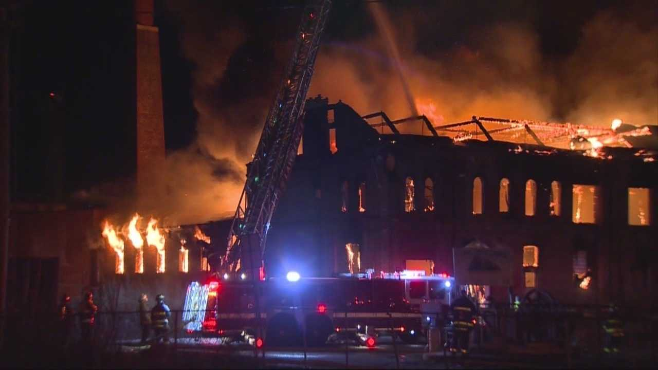 Cause of massive blaze questionable, fire chief says