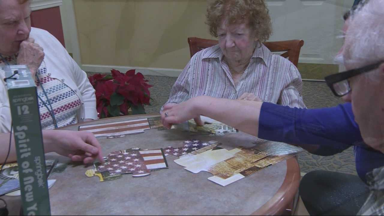 Teen improving Alzheimer's patients' quality of life