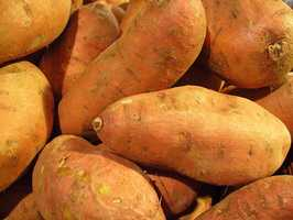 Eat more sweet potatoes -- they are high in beta carotene, which can help prevent acne.