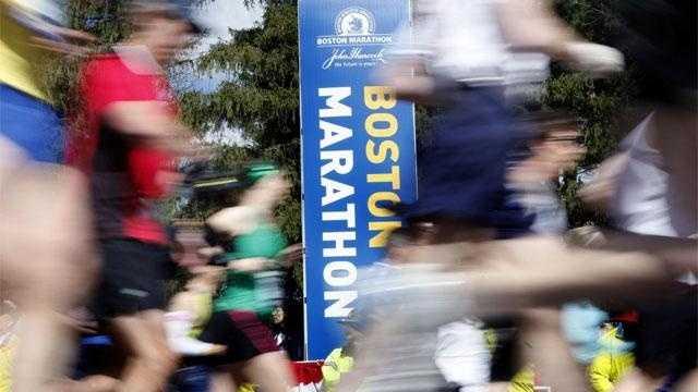 Boston Marathon start line generic
