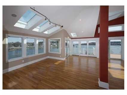The home has an open concept.