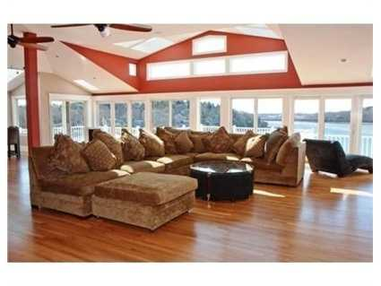 The home has 8,000 square feet of living space.