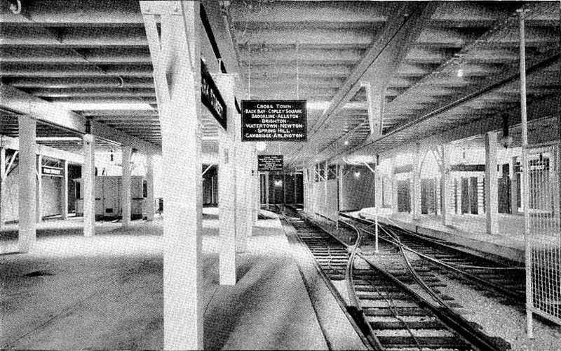 Boston built the first subway system in the United States in 1897.