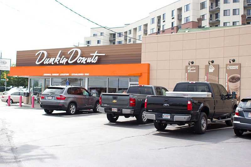Quincy boasts the first Dunkin Donuts on Hancock Street