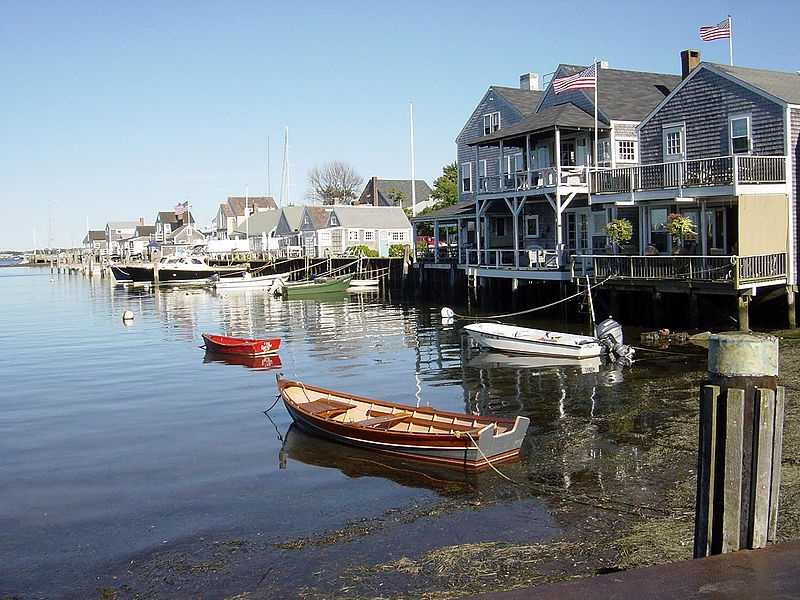 Glaciers formed the islands of Nantucket and Martha's Vineyard during the ice age.