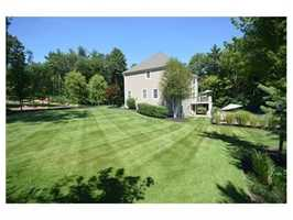 The home sits on more than 1 acre of land.