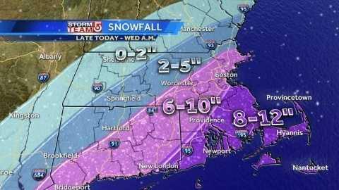Tuesday 11pm snowfall graphic 012114