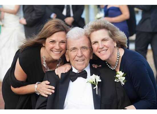 Chet and his daughters Dawn and Dana.