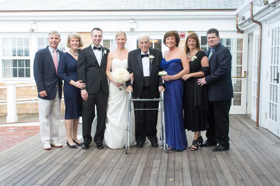 Chet Curtis and Natalie Jacobson attended the wedding of their daughter, Lindsay, in the summer of 2013.