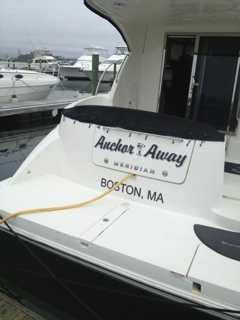 Chet's boat, Anchor Away.