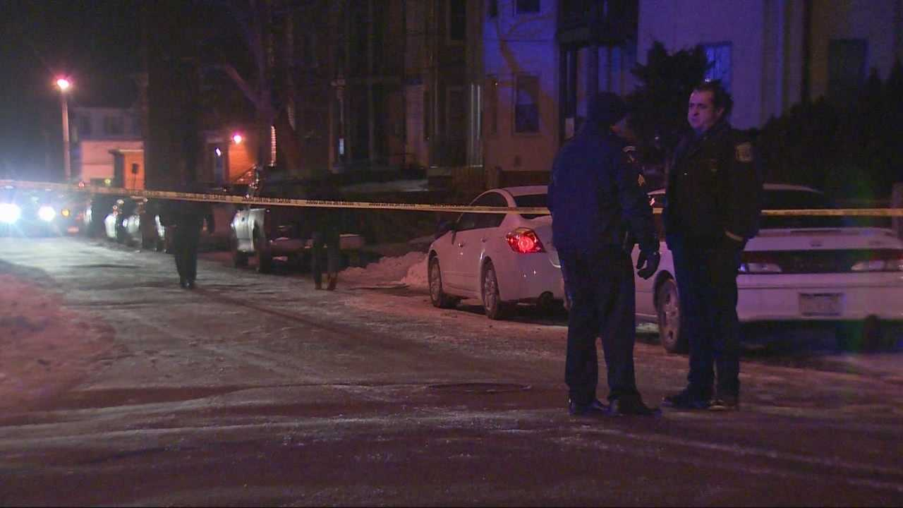 New Bedford police officer shot, critically wounded.
