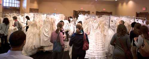 """""""Our mission is to insure no one has to face cancer alone,"""" said Ashley Ritter, Show Manager of the Nationwide Tour of Gowns. 80 percent of the money raised from more than 100 shows goes directly to the mission."""