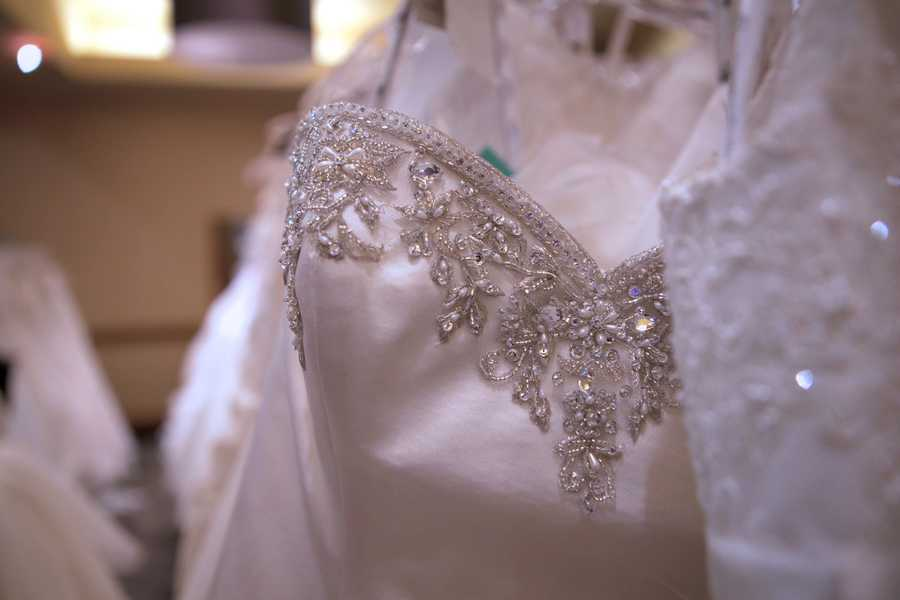 """Last year, $2 million was raised during the tour of gowns and the money funded free programs and services for those impacted by cancer.""""A wedding is such a positive thing. It's taking something that is hard, you know cancer is so negative, into something positive for everyone involved,""""said Ritter."""