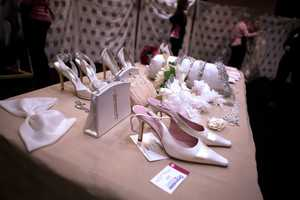 Other accessories are prepared for brides to match with their gowns.