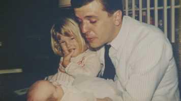 Chet with daughter Dana