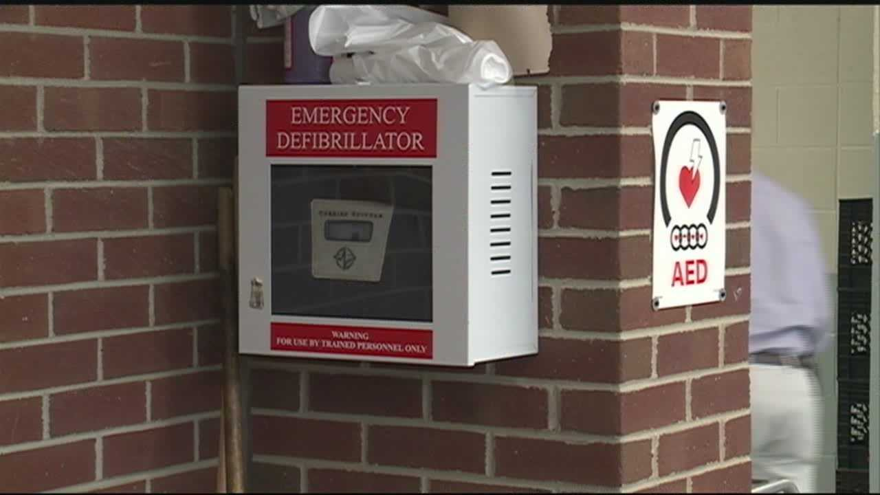 AED, CPR help boy at basketball game