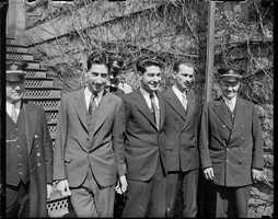 On Feb. 2, 1934, the Needham Trust Company was robbed by Murton Millen, Irving Millen, and Abraham Faber.