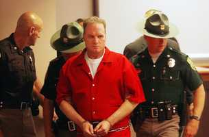 Spree killer Gary Sampson was sentenced to death in Massachusetts under the federal death penalty statute for killing Philip McCloskey, 69, Robert Whitney, 58, and Jonathan Rizzo, 19,  during a week-long crime rampage.